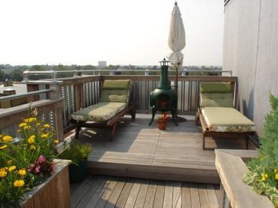 Back deck ideas design