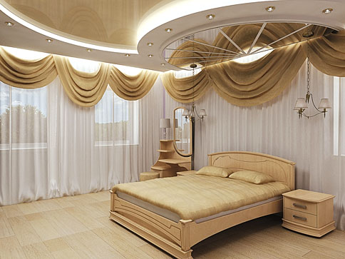 Bedroom false ceilings design