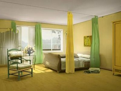 Curtain ideas for bedroom design