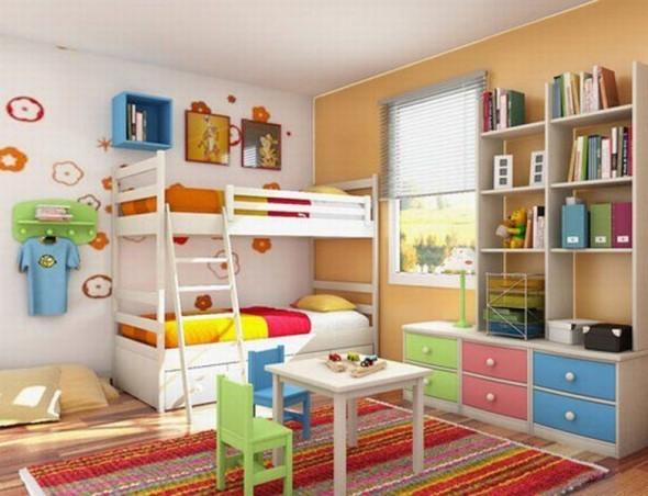 Cute bunk beds design