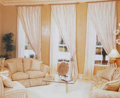 Drapery ideas large windows decorating - Appliance In Home