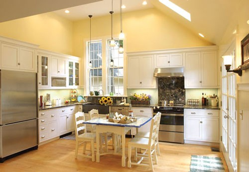 Farmhouse kitchen design - Appliance In Home