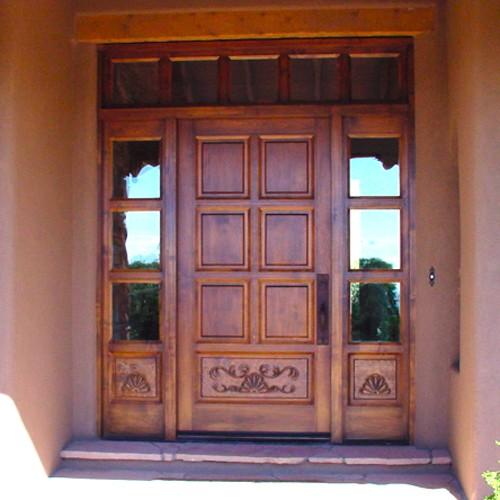 Front door designs wood