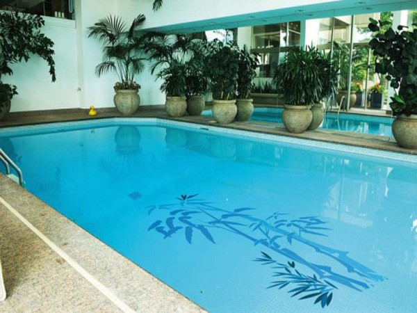 Indoor pool flooring ideas decor