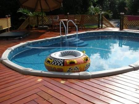 Indoor pool flooring ideas design