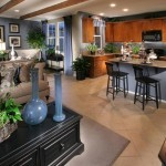 Open kitchen floor plans design
