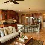 Open kitchen floor plans ideas