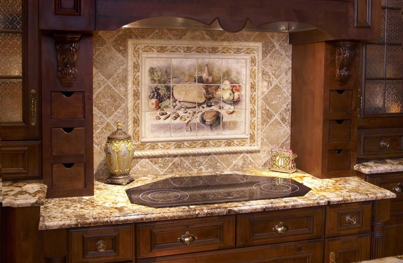 Rock Backsplash For Kitchen Ideas