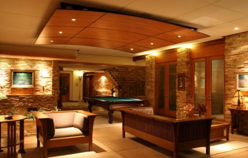 Roof ceiling design decor