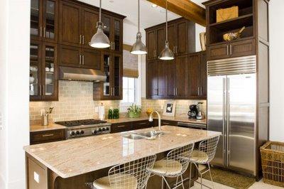 Stainless steel backsplash tile ideas