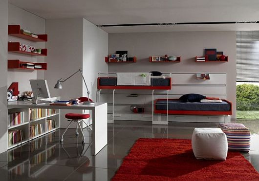 unique teenage bedroom decor