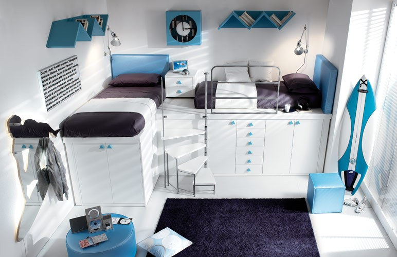 unique teenage bedroom designs