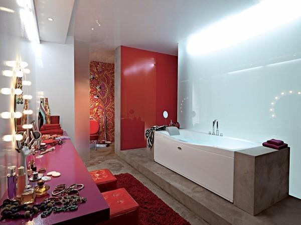 Bathroom with bath up design ideas