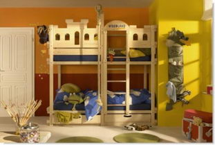 Boys room with bunk beds Furniture 2012