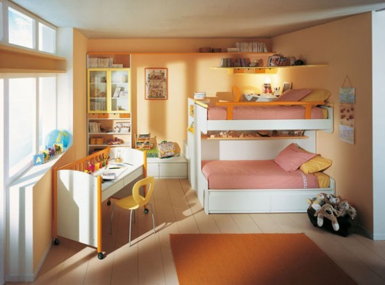 Boys room with bunk beds Furniture decor