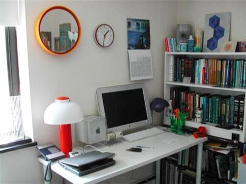 Bright Color Office Desks decor