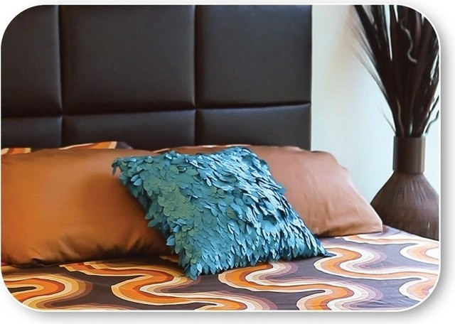Fabric Covered Headboards modern
