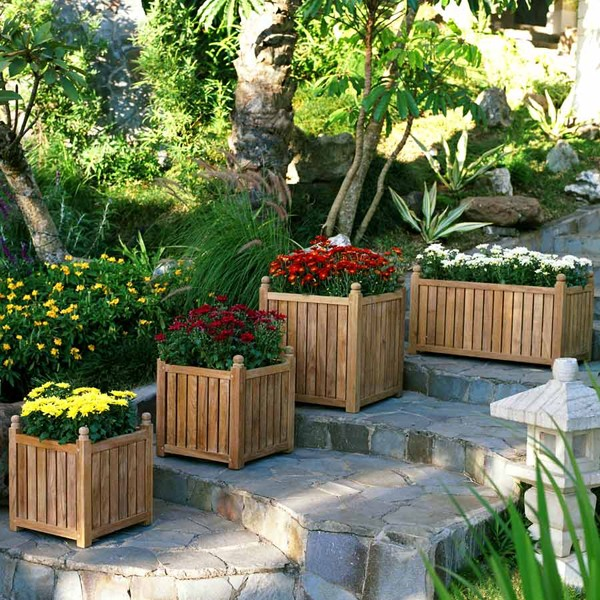 Functional Bright Planters ideas