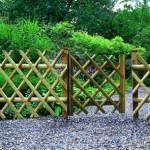 Garden fence design ideas