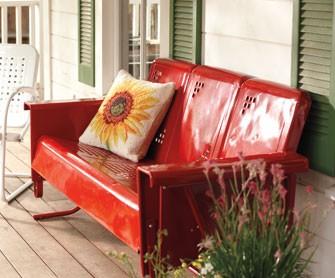 Lawn Glider Furniture outdoor