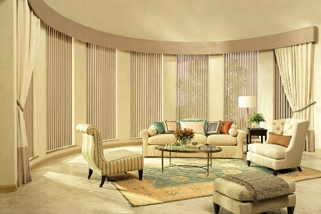 Living room curtain styles decorating