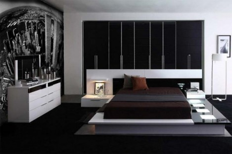 Modern bedroom furniture sets decor