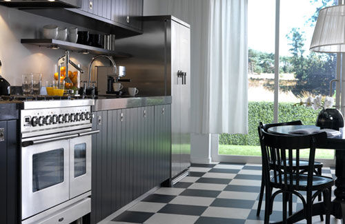 Modern country kitchens 2012