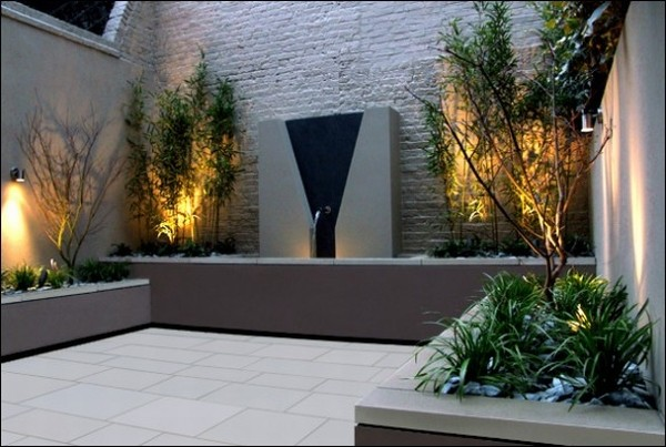 Roof top gardens decorating