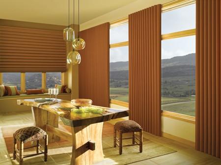 Shades for glass door modern