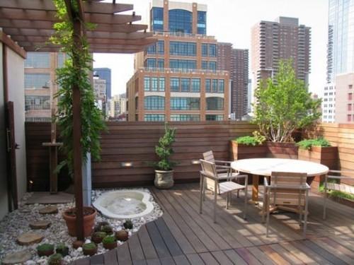 Small patio ideas modern
