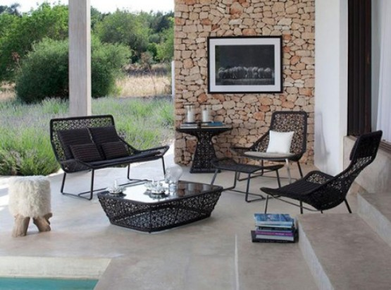 Terrace furniture ideas outdoor