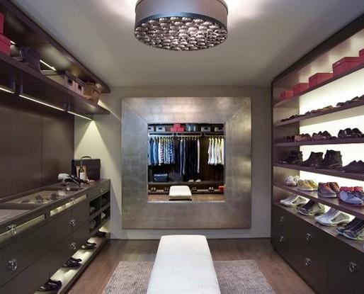 Walk in closet design decor
