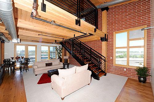 Wood and brick floor plan ideas