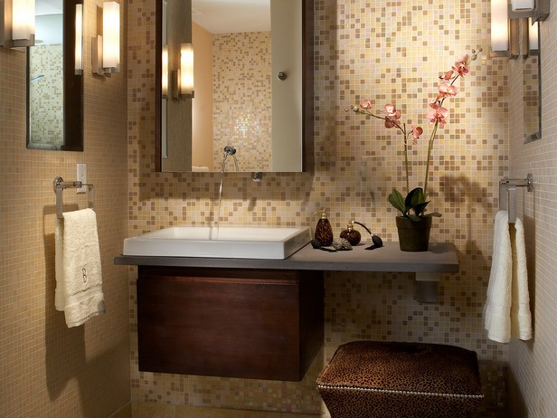 Brown And Gold Bathrooms Ideas