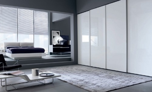 white interior door decor