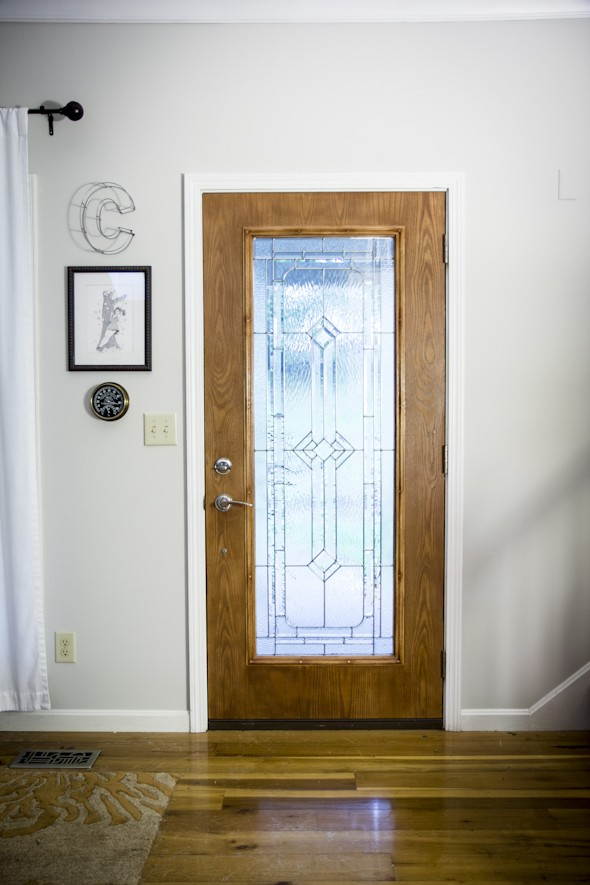 white interior door paint