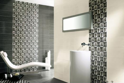 Art Deco Bathroom Tile Decor