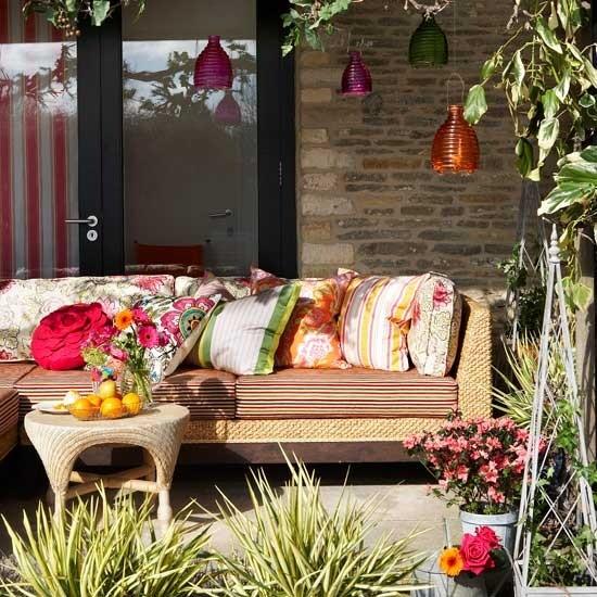 Autumn outdoor decorating ideas modern