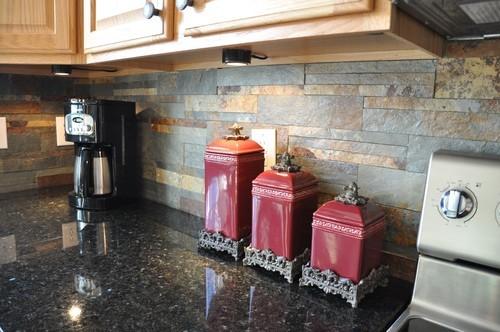 Backsplash tile ideas for granite countertops