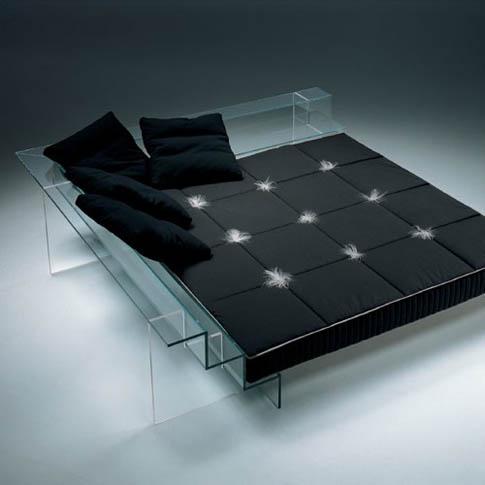 Black bedroom design modern