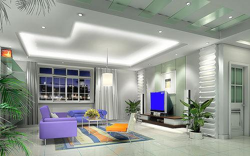 Ceiling designs living room modern