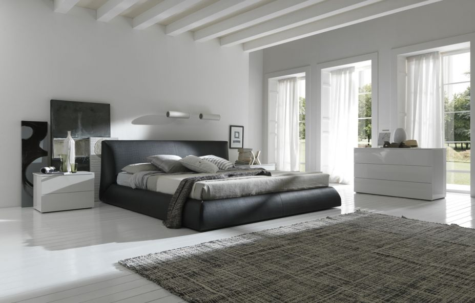 Gray wall bedroom design - Appliance In Home