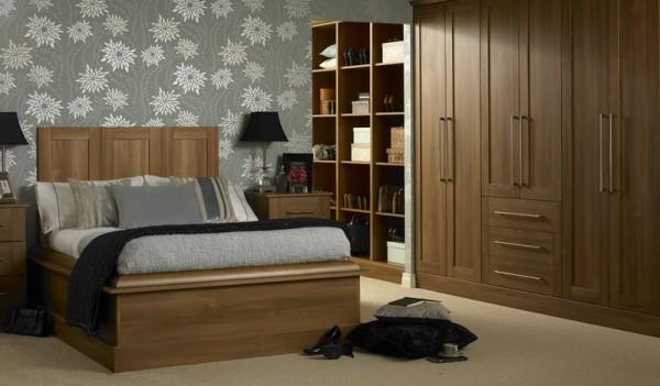 Latest designs of cupboards in bedroom decor