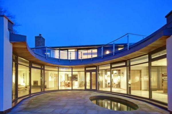 Minimalist house floor plans modern