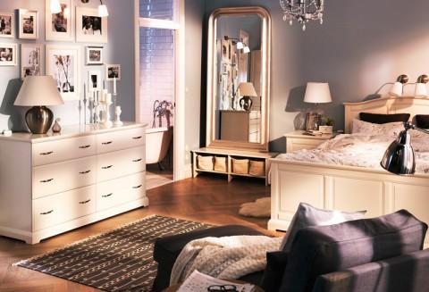Mirrored furniture ikea decor