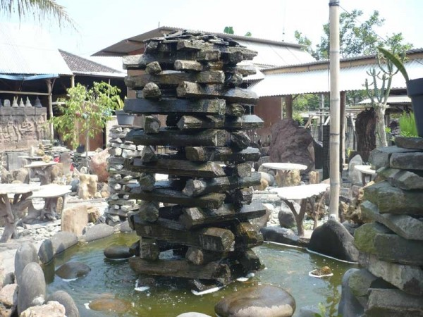 Modern water fountains materials outdoor