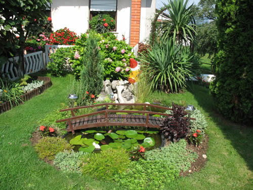 Small easy garden ideas simple