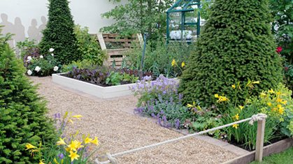 Small garden feature ideas plans to interesting feature