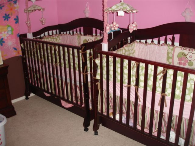 Twin baby furniture decor