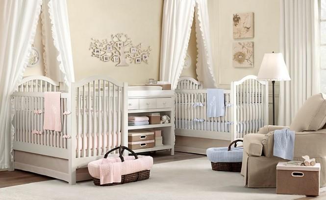 Twin baby furniture ideas